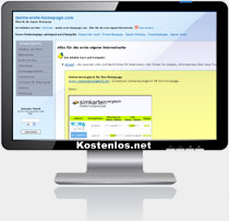 Homepage Tipps kostenlos