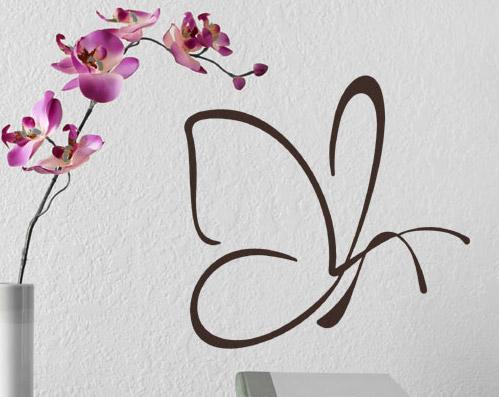 Kostenloser Wandtattoo Schmetterling auf Facebook